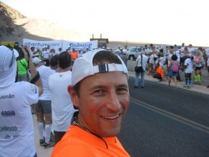2013 Badwater start selfie