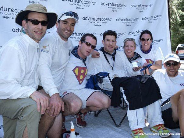 Badwater 2009.Blake finish line