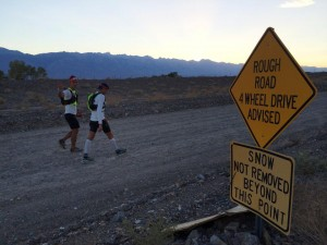 Badwater.Starting up Cerro Gordo w Billy.Sally