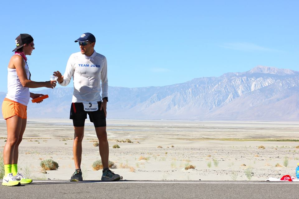 Badwater.With Sally getting water.Billy