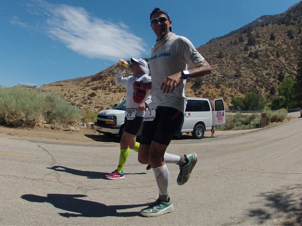 Badwater.coming down Horseshoe with Gavin.Ben Jones